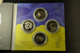 Set Coins 5 UAH 25 Years Of Independence Of Ukraine UNC - Ukraine