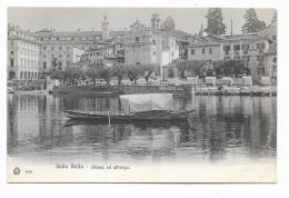 ISOLA BELLA - CHIESA ED ALBERGO - NV  FP - Verbania