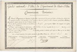 Garde Nationale D'Élite Généalogie Sellier 1815 - Documentos Históricos