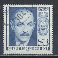 °°° AUSTRIA 1982 - Y&T N°1551 °°° - 1945-.... 2a Repubblica