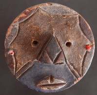 STATUETTE AFRICAINE 14 CENTIMETRES DE HAUT VOIR  2 SCANS - Art Africain