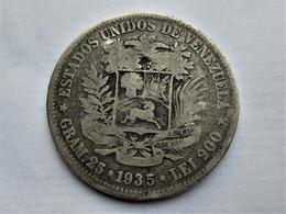 Venezuela, 5 Bolivares, 1935 BOLIVAR - Venezuela