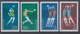 BULGARIA 1970 VOLLEYBALL WORLD CUP - Pallavolo