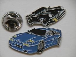 Pin's - Lot De 2 Pin's Automobiles De Luxe - Badges