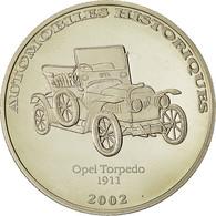 Monnaie, CONGO, DEMOCRATIC REPUBLIC, 10 Francs, 2002, FDC, Copper-nickel, KM:191 - Congo (Democratic Republic 1998)