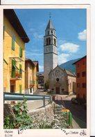 U2895 Cartolina BASELGA DI PINè. CHIESA PARROCCHIALE - TRENTINO _ ED OREMPULLER M/9082 - Italia