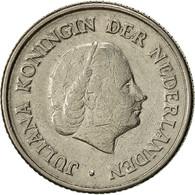 Monnaie, Pays-Bas, Juliana, 25 Cents, 1951, TTB+, Nickel, KM:183 - [ 3] 1815-… : Kingdom Of The Netherlands