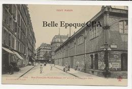 75 - TOUT PARIS 11 - #1105 - Rue François-Neufchâteau Et Le Gymnase Japy +++ F. FLEURY +++ Parfait état - District 11