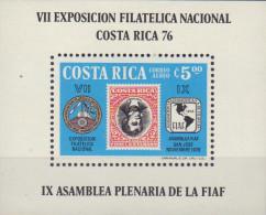 Ref. 368947 * NEW *  - COSTA RICA . 1976. VII EXPOSICION FILATELICA NACIONAL - COSTA RICA-76 - Costa Rica