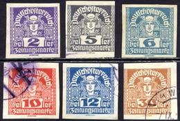 Oostenrijk 1920, Austria, Autriche, Osterreich, Collection - Dagbladen