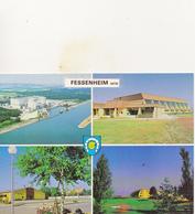FESSENHEIM Centrale Nucléaire, Salle Des Sports, Salle Des Fêtes, Piscine      (rare) - Fessenheim