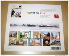 Blok 177 XX Antverpia 2010 Het Hart Van Antwerpen 3985/90** BF 177** Le Coeur D' Anvers (bloc 177) - Blokken 1962-....
