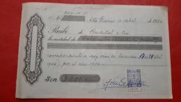 Argentina Recibo De Paggo Con Sello Fiscal De La Provincia De Cordoba - Oficiales