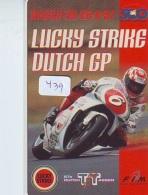 NEDERLAND CHIP TELEFOONKAART CRE 439 * MOTOR RACE * Dutch TT Assen 1997 *  Telecarte A PUCE PAYS-BAS * ONGEBRUIKT MINT - Motos