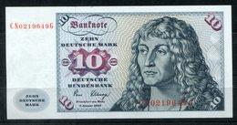 6941 - BUND - 10 DM Schein - Nicht Gefaltet - CN....G - [ 7] 1949-… : FRG - Fed. Rep. Of Germany