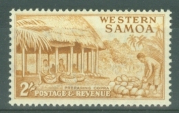 Samoa: 1952   Pictorial   SG227   2/-    MH - Samoa
