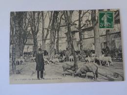 CAEN   : Le Marché Aux Moutons ,sur Le Parc  ,n°131 - Caen