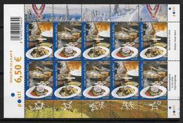 Finlande 2005 N°1715/1716 Neufs En Bloc Complet . Europa Gastronomie - Finlande