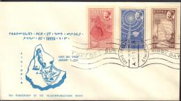 Ref. 509816 * NEW *  - ETHIOPIA . 1963. COMMUNICATIONS. COMUNICACIONES - Ethiopia