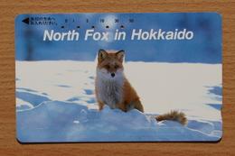 Japon Japan Phonecard (C) / Fox Fuchs - Télécartes