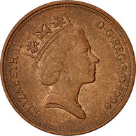 Monnaie, Grande-Bretagne, Elizabeth II, 2 Pence, 1996, TB+, Copper Plated Steel - 1971-… : Monnaies Décimales