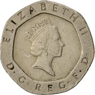 Monnaie, Grande-Bretagne, Elizabeth II, 20 Pence, 1989, TTB, Copper-nickel - 1971-… : Monnaies Décimales