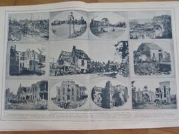 Guerre 1914 1918 Moreuil Montdidier Ricquebourg Plessis Cacheleux Boulogne La Grasse - Vecchi Documenti