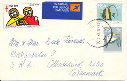 South Africa RSA Cover Sent To Denmark 13-12-1976 - South Africa (1961-...)