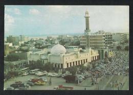 United Arab Emirates Dubai Aerial View AL Zarooni Mosque Picture Postcard U A E View Card - Dubai