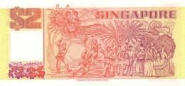 SINGAPORE P. 27 2 D 1990 UNC - Singapour