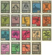 Ref. 587980 * NEW *  - ECUADOR . 1975. 3rd ECUADOR GAMES IN QUITO. 3 JUEGOS DEL ECUADOR EN QUITO - Ecuador