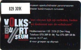 Telefoonkaart  LANDIS&GYR  NEDERLAND * RCZ.829  301k  * Volksbuurt Museum Den Haag * TK * ONGEBRUIKT * MINT - Nederland
