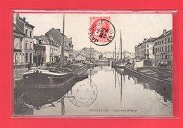 BELGIQUE-CPA BRUXELLES - QUAI AUX BRIQUES - Maritime