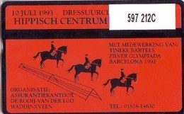 Telefoonkaart  LANDIS&GYR NEDERLAND * RCZ.597  212c * Hippisch Centrum Bodegraven  * TK * ONGEBRUIKT * MINT - Nederland