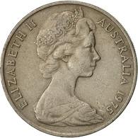 Monnaie, Australie, Elizabeth II, 20 Cents, 1975, TTB, Copper-nickel, KM:66 - Monnaie Décimale (1966-...)