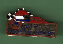 ASACL 38e RALLYE DE LORRAINE *** 0034 - Automobile - F1