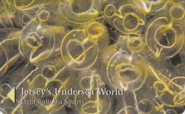 "JERSEY ISL. - Jersey""s Undersea World/Light Bulb Sea Squirts, CN : 49JERB(normal 0), Tirage %20000, Used - United Kingdom"