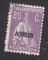 Azores, Scott #216, Used, Ceres Overprinted, Issued 1912 - Azoren