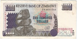 Zimbabue - Zimbabwe 100 Dollars 1995 Pick 9a Ref 1758 - Zimbabwe