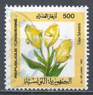 Tunesia 1987. Scott #932 (U) Flowering Plants, Tulipa Sylvestris * - Tunisie (1956-...)