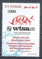Tunesia 2016. Scott #1626 (U) World Telecommunication Standardization * - Tunisie (1956-...)