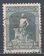 Turkey 1926. Scott #634 (U) The Legendary Blacksmith And His Gray Wolf * - 1921-... République