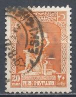 Turkey 1926. Scott #635 (U) The Legendary Blacksmith And His Gray Wolf * - 1921-... République