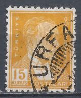 Turkey 1932. Scott #751 (U) Mustafa Kemal Pasha (1881-1938), Statesman - 1921-... République