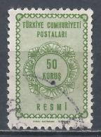 Turkey 1964. Scott #O93 (U) Numeral Of Value * - 1921-... République