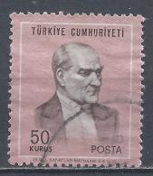 Turkey 1970. Scott #1836 (U) Kemal Atatürk, Statesman * - 1921-... République