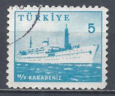 Turkey 1959. Scott #1443 (U) Ship, Karadeniz * - 1921-... République