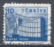 Turkey 1960. Scott #1444 (U) Grain Elevator, Ankara * - 1921-... République