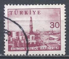 Turkey 1960. Scott #1448 (U) Gasoline Refinery, Batman * - 1921-... République