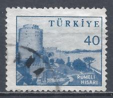 Turkey 1960. Scott #1449 (U) Rumeli Hisari Fortress * - 1921-... République